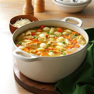 Turkey Gnocchi Soup Recipe