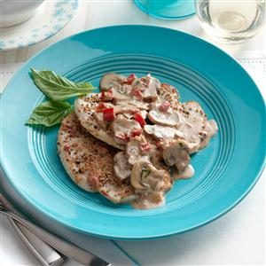 Turkey in Cognac Cream Sauce