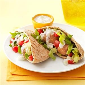Turkey Meatball Gyros Recipe