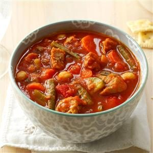 Turkey Sausage Soup with Fresh Vegetables Recipe