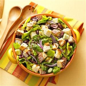 Tuscan Bread Salad Recipe