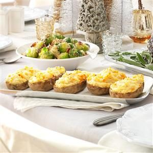 Twice-Baked Potatoes Supreme Recipe