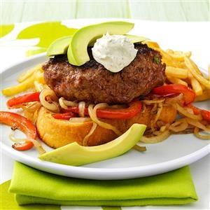 Unstuffed Jalapeno Popper Burgers Recipe