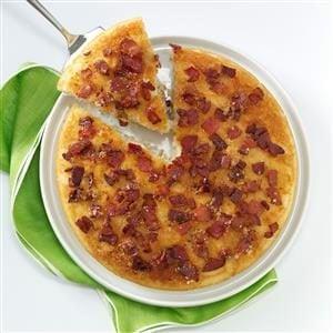 Upside-Down Bacon Pancake Recipe