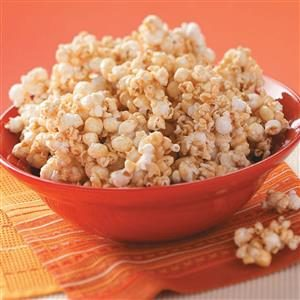 Vanilla Caramel Corn Recipe