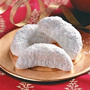 Vanilla Crescent Cookies Recipe