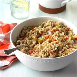 Vegetable Barley Bake Recipe