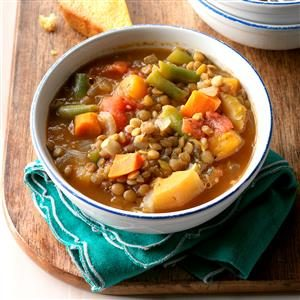 Vegetable Lentil Soup Recipe