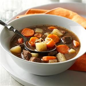 Vegetable Steak Soup Recipe