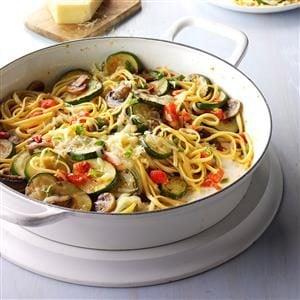 Vegetarian Linguine Recipe