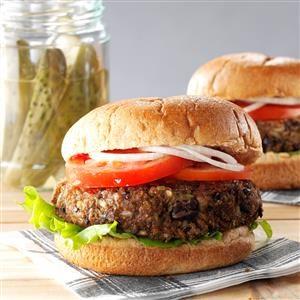 Veggie Bean Burgers Recipe