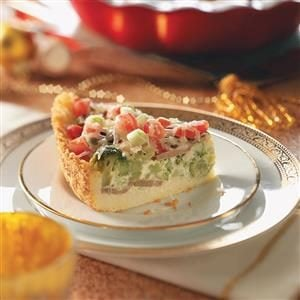 Veggie Couscous Quiche Recipe