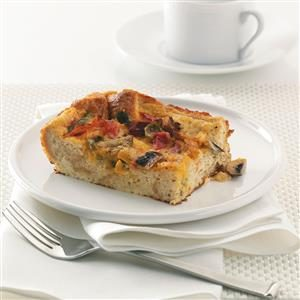 Veggie Egg Casserole Recipe