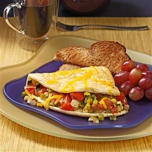 Very Veggie Omelet Recipe