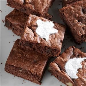 Walnut Cake Brownies Recipe