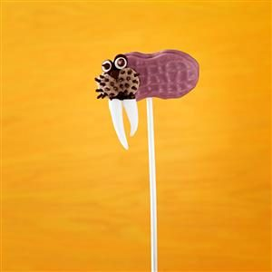 Walrus Cookie Pops