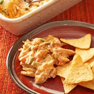 Warm Chicken Fiesta Dip Recipe