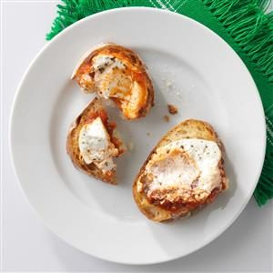 Warm Goat Cheese in Marinara