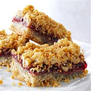 Warren's Oatmeal Jam Squares Recipe