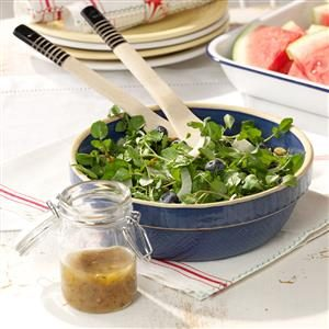 Watercress with Fennel & Berries Recipe