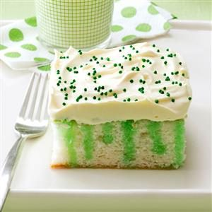 Watch Us Make: Wearing o' Green Cake