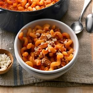 Weeknight Pasta Skillet Recipe