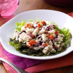 White Bean Tuna Salad with Vinaigrette Recipe