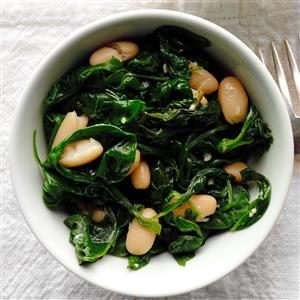 White Beans and Spinach Recipe