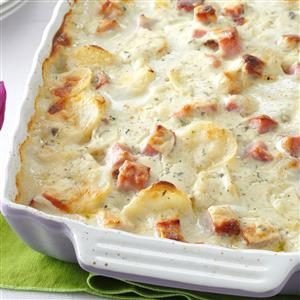 White Cheddar Scalloped Potatoes Recipe