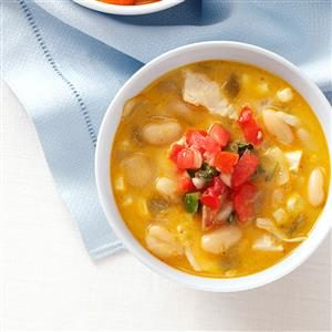 White Chili with a Kick Recipe