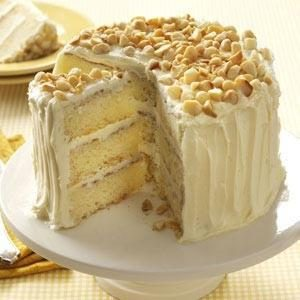 White Chocolate-Coconut Layer Cake Recipe
