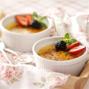 White Chocolate Creme Brulee Recipe