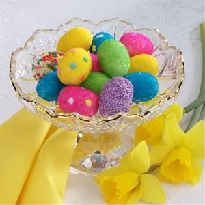 White Chocolate Easter Egg Candies