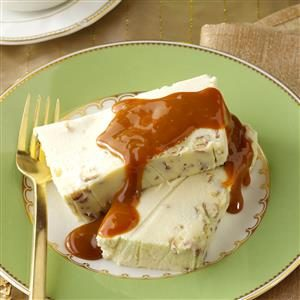 White Chocolate Terrine with Caramel Sauce Recipe