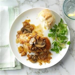 White Wine Garlic Chicken