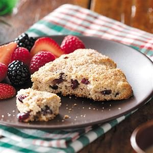 Whole Wheat Cranberry Scones Recipe
