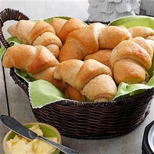 Whole Wheat Crescent Rolls Recipe