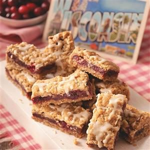 Winning Cranberry Date Bars Recipe