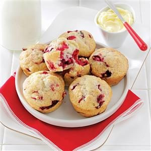 Winning Cranberry Muffins Recipe