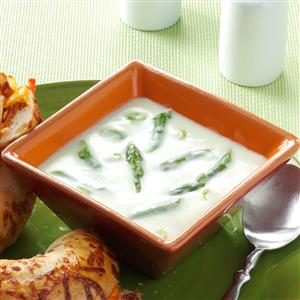 Winning Cream of Asparagus Soup Recipe
