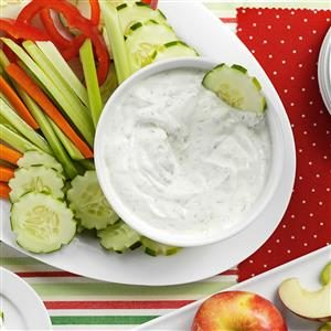 Yogurt Dill Dip Recipe