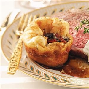 Yorkshire Pudding with Bacon and Sage Recipe