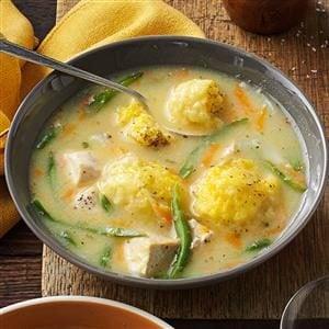 Yummy Chicken and Dumpling Soup Recipe