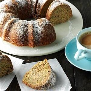 Yummy Zucchini Coffee Cake Recipe