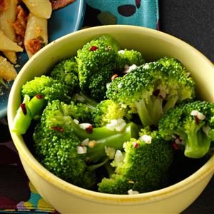Zesty Garlic Broccoli Recipe