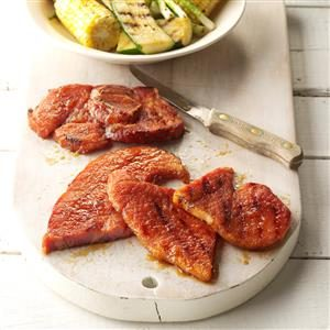 Zesty Grilled Ham Recipe
