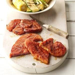 Zesty Grilled Ham Recipe