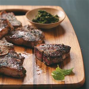 Zesty Herbed Lamb Chops Recipe