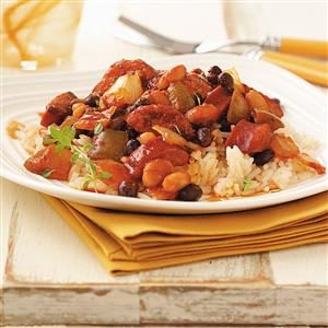 Zesty Sausage & Beans Recipe