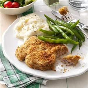 Zippy Breaded Pork Chops Recipe
